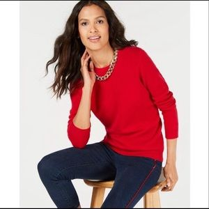 Charter Club Luxury Cashmere Crewneck Sweater